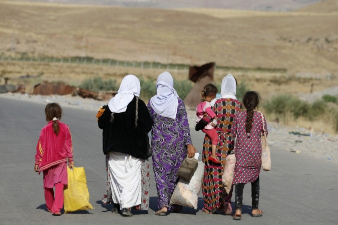The hardliner Sunni Militants, Islamic State (ISIS) tried to give a justification for capturing thousands of Yazidi woman.