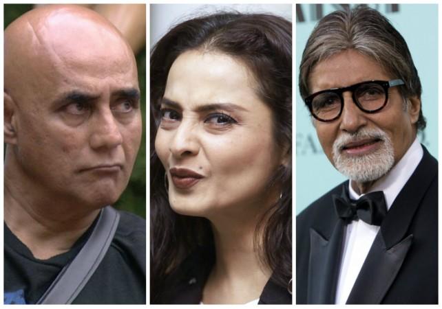 Puneet Issar, Rekha, Amitabh Bachchan