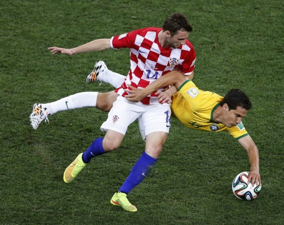 Marcelo Brozovic Croatia Brazil Hernanes