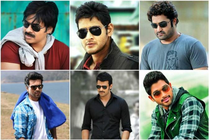 Telugu actors collage photo