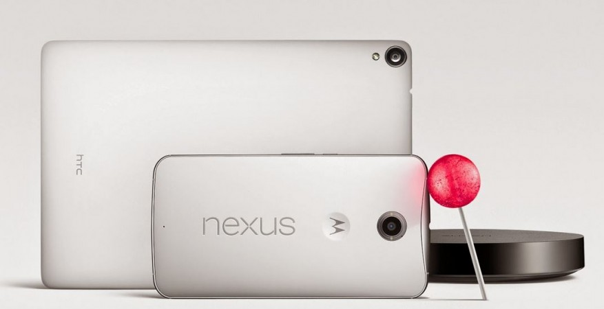 Google Nexus 6, Nexus 9 with Android Lollipop OS Unveiled; Price, Specifications Details
