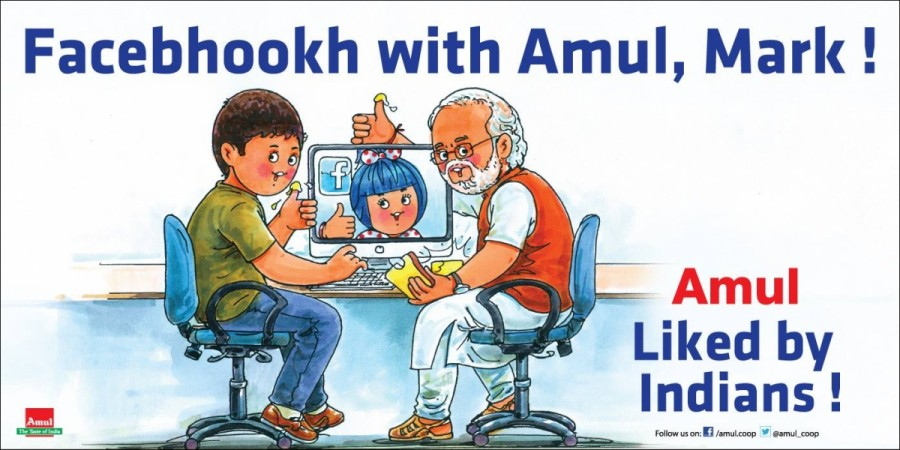 Amul wins Facebook war with angry customer