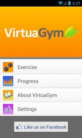 VirtualGym Fitness Home & Gym
