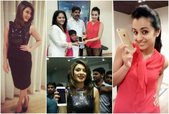 Hansika Motwani Launches Apple iPhone 6; Trisha Gifted Smartphone (Pictures)