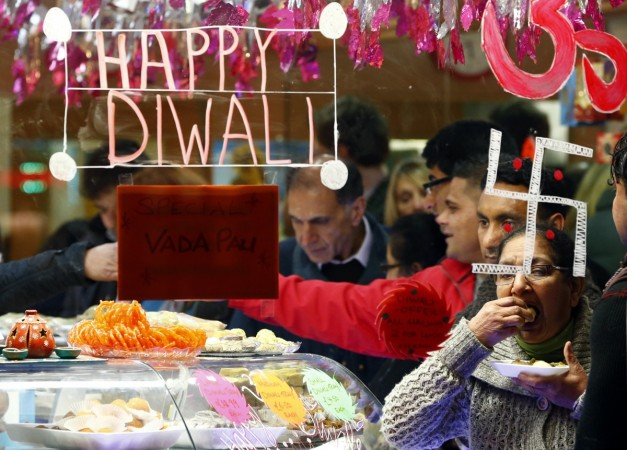 Diwali is the time of diyas crackers and sweets