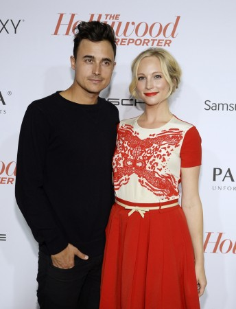 Joe King and Candice Accola