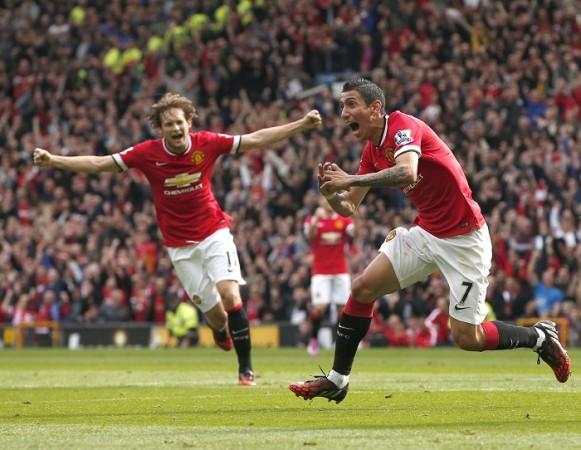 Daley Blind Angel Di Maria Manchester United
