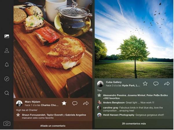 Flickr app on iPad