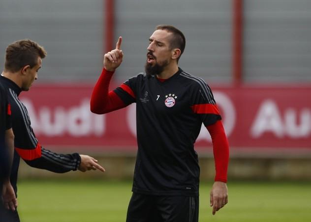 Xherdan Shaqiri Franck Ribery Bayern Munich