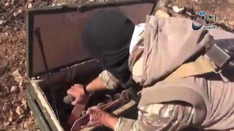Islamic State (ISIS) are in control of weapons that were dropped for Syrian Kurdish fighters to battle the deadly jihadists.