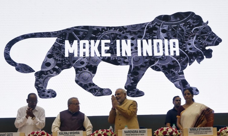 Make in India campaign launch