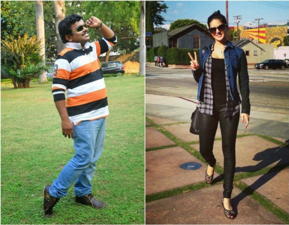 Sunny Leone Turns Sampoornesh Babu's Girlfriend