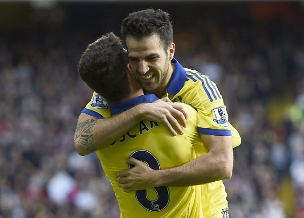 Cesc Fabregas Oscar Chelsea