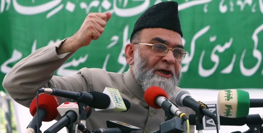 Head priest of Jama Masjid, Syed Ahmed Bukhari