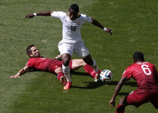 Abdul Majeed Waris Ghana Portugal Joao Moutinho William Carvalho