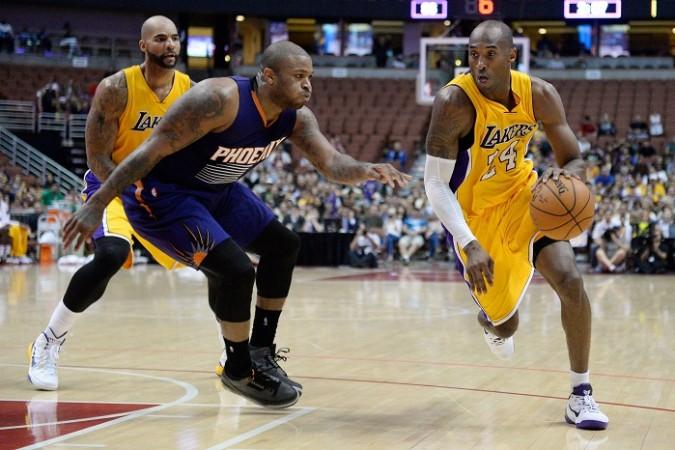 Carlos Boozer Kobe Bryant Los Angeles Lakers PJ Tucker Phoenix Suns