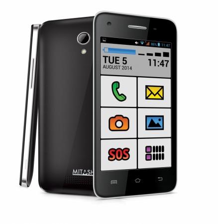 Mitashi Play Senior, android smartphone for senior citizens