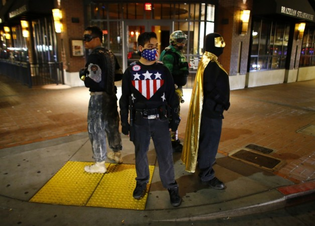 Xtreme Justice League, a band of real life superheroes fighting crime in San Diego
