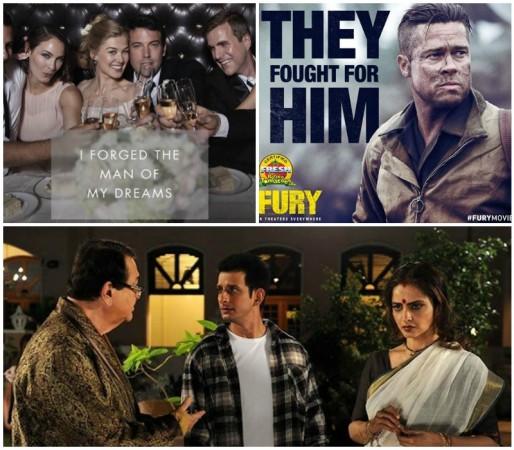 Will Rekha's 'Super Nani', Brad Pit's 'Fury', Ben Affleck's 'Gone Girl' Affect SRK's 'Happy New Year'?