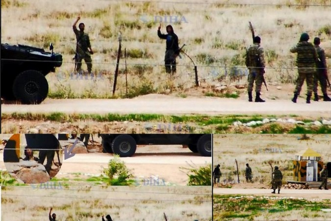 News reports from Turkey have found that the Turkish soldiers have been fraternising with the ISIS fighters.