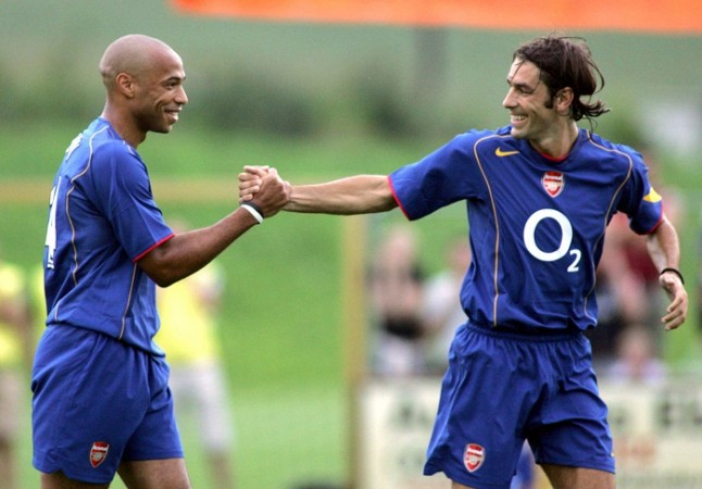 Thierry Henry Robert Pires Arsenal