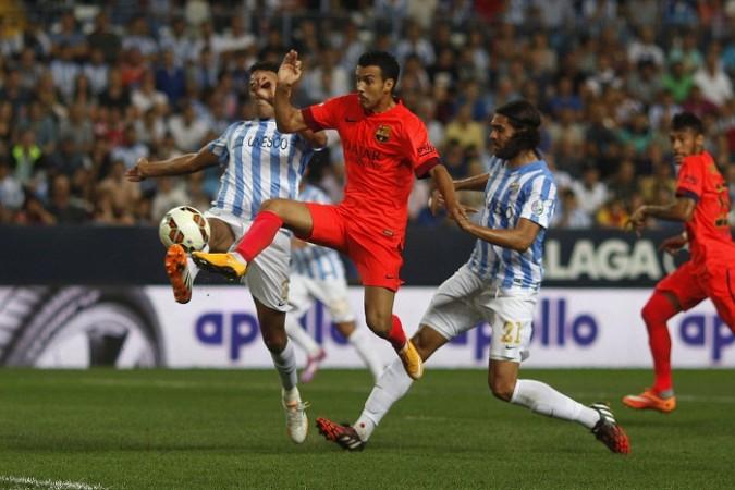 Pedro Barcelona Weligton Sergio Sanchez Malaga