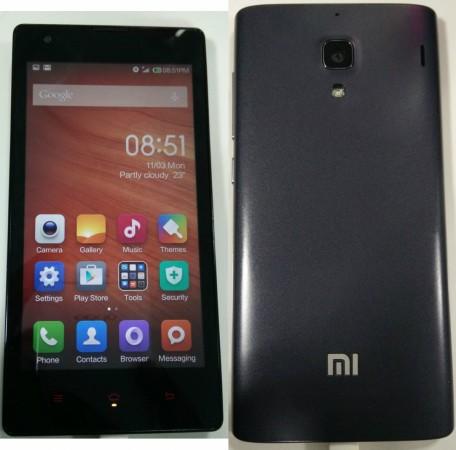 Xiaomi Redmi 1s Face