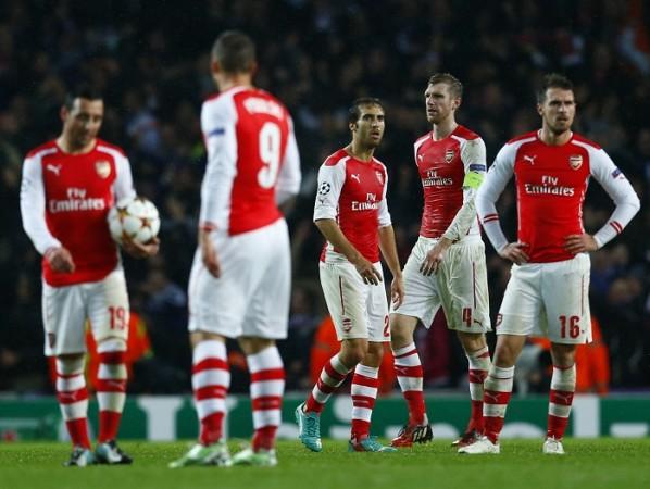 Arsenal Cazorla Podolski Flamini Mertesacker Ramsey