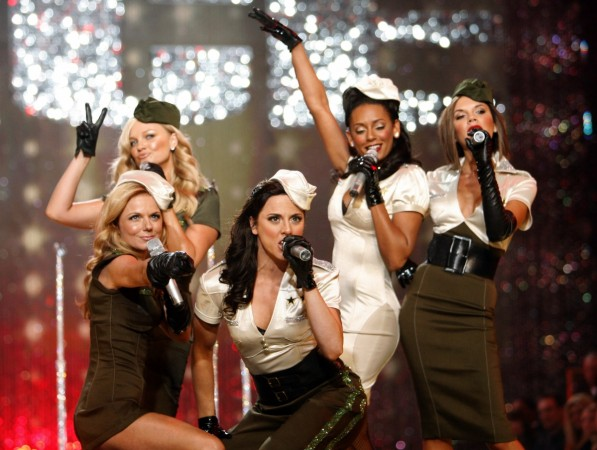 Spice Girls perform