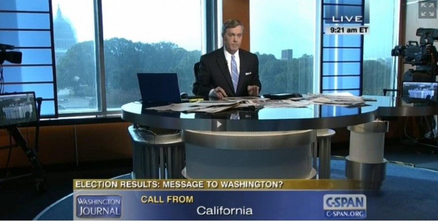 A republican supporter called Barack Obama the 'N-Word' live while speaking to C-SPAN network.