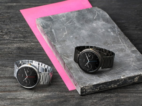 Motorola Launches Aircraft-Grade Stainless Steel, Gold Moto 360 Bands; Moto Body Fitness App Update to Rollout Soon