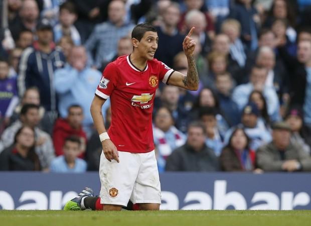 Angel Di Maria Manchester United