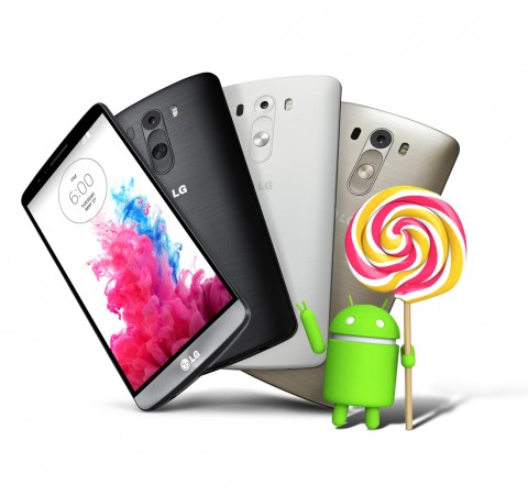 Android 5.0 Lollipop Set to Release for LG G3 This Week