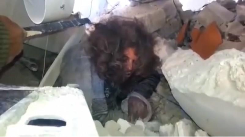 A screenshot of the senior ISIS leader said to be the Emir of Kobane - Abd al-Hadi Mohamed,who also goes by the name of Abu Hamza Al-Tabqawi.