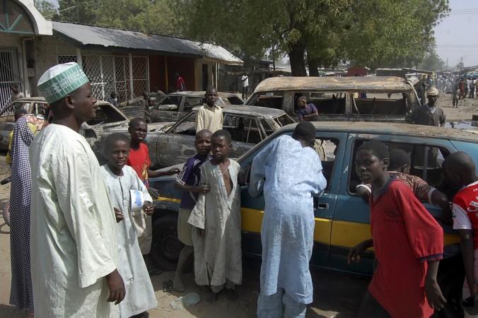 Boko Haram suicide attack in Nigeria