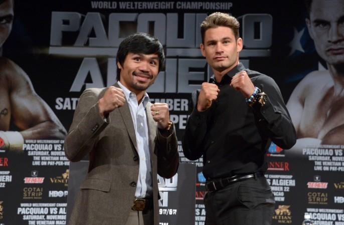 Manny Pacquiao, Chris Algieri