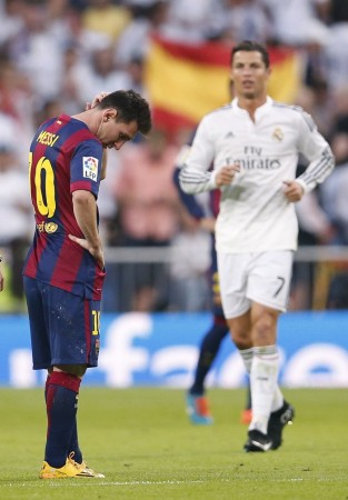 Messi Ronaldo Barcelona Real Madrid