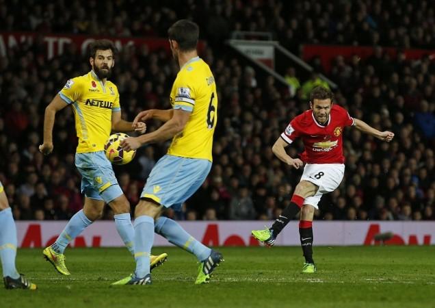 Crystal Palace Juan Mata Manchester United