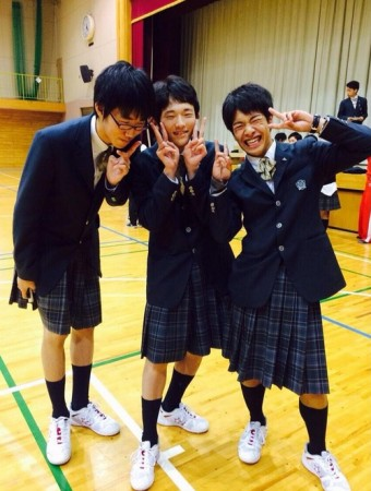 Sex change day in Japanese school