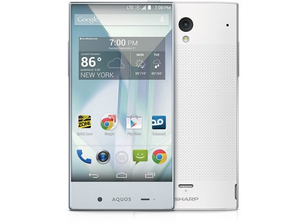Sharp AQUOUS Crystal smartphone