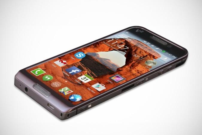 Saygus V- square smartphone