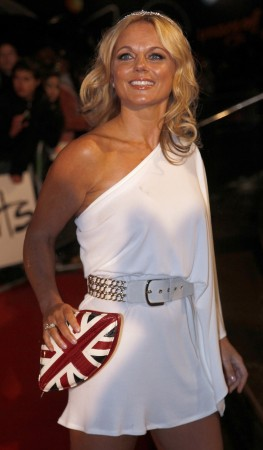 Geri Halliwell arrives at the 30th Brit Awards ceremony