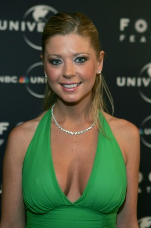 Tara Reid arrives at the NBC Universal Focus Feature Golden Globe