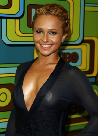 Hayden Panettiere poses at the HBO after party