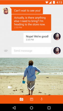 Google Launches Messenger, A New Standalone Messaging App For Android