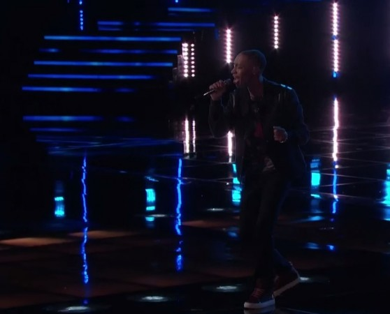 """Elyjuh Rene performs """"Latch"""" by Sam Smith in """"The Voice"""" Season 7 Live Playoffs"""