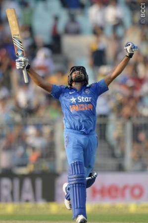 Rohit Sharma India Double Hundred