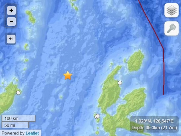 After 7.3 Earthquake, Tsunami is expected to reach Indonesia, the Philippines, Palau, Papua New Guinea, the Solomon Islands, Marshall Islands and Japan.