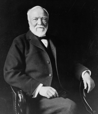 Andrew Carnegie: (Estimated $75 -297 Billion)
