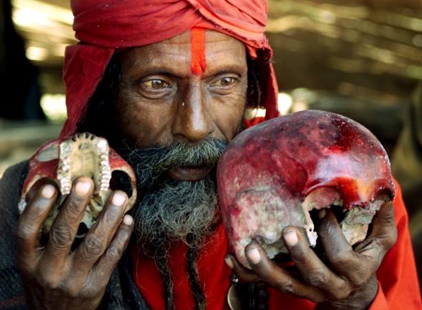 Black magic tantrik human sacrifice
